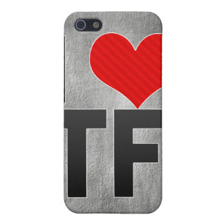 I Love TF iPhone 5 Covers