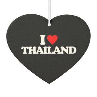 I LOVE THAILAND AIR FRESHENER