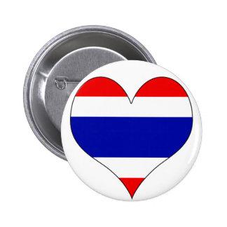 I Love Thailand Pin