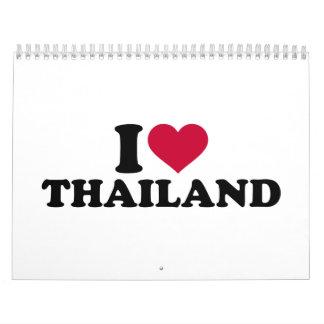 I love Thailand Calendar