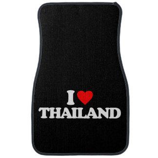 I LOVE THAILAND CAR MAT