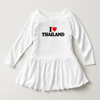 I LOVE THAILAND DRESS