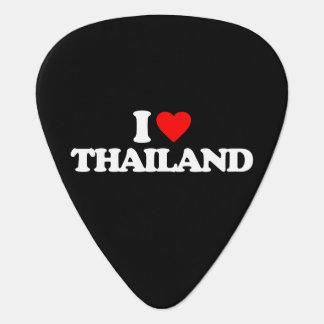 I LOVE THAILAND GUITAR PICK