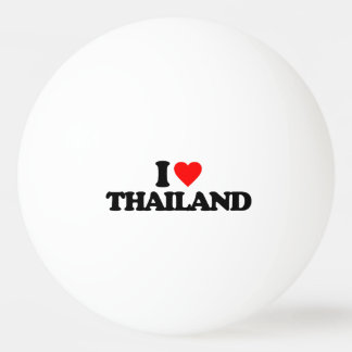 I LOVE THAILAND Ping-Pong BALL