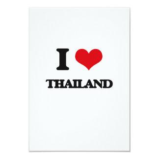 "I Love Thailand 3.5"" X 5"" Invitation Card"