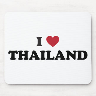 I Love Thailand Mouse Pad