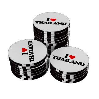 I LOVE THAILAND POKER CHIPS