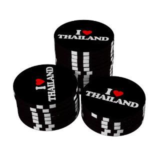 I LOVE THAILAND POKER CHIPS SET