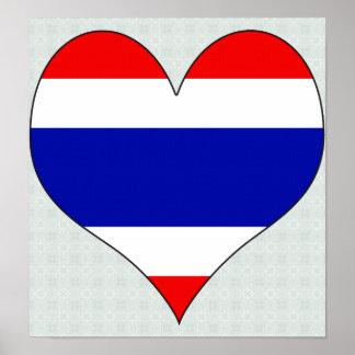 I Love Thailand Print