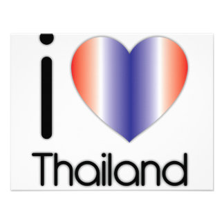 I Love Thailand Products Invite