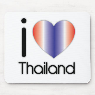 I Love Thailand Products Mouse Pad