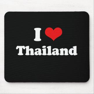 I Love Thailand Tshirt Mouse Pad
