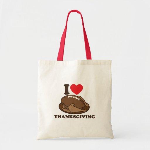 I love Thanksgiving Budget Tote Bag