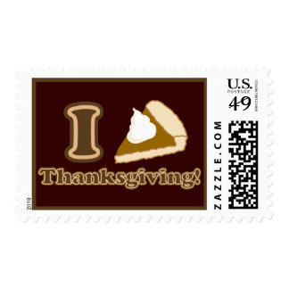 I love Thanksgiving Stamps