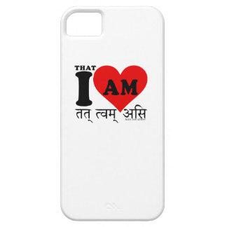I Love, That I am, on sanskrit iPhone SE/5/5s Case