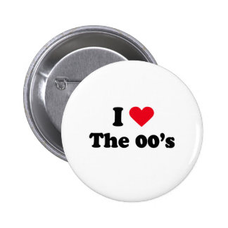 I love the 00's pin