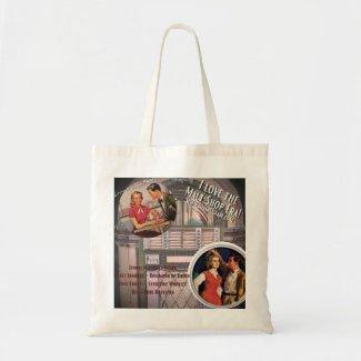 I love the 1950s Malt Shop Era! Tote Bag