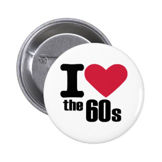 I love the 60's pinback buttons