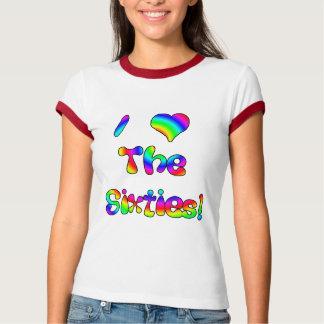 I Love The 60's Tee Shirt