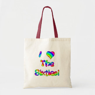 I Love The 60's Tote Bag