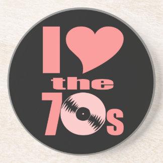 I Love the 70s Coaster