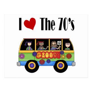 I love the 70's postcard