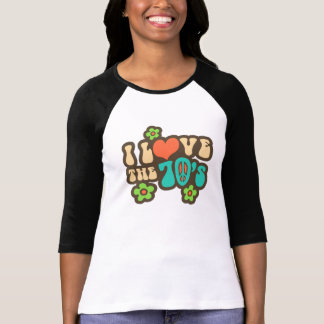 I Love The 70's T-Shirt