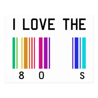 I love the 80´s design post cards