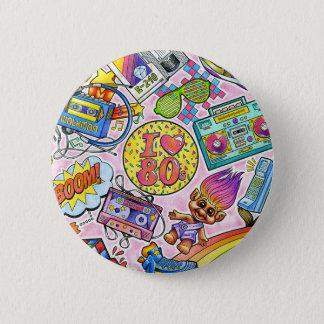 I love the 80s Button! Pinback Button