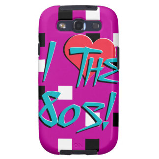 I Love The 80s! Samsung Galaxy S3 Cases