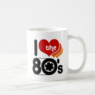 I Love the 80's Coffee Mug