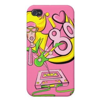 I love the 80's iPhone 4 cases