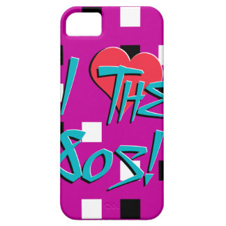 I Love The 80s! iPhone SE/5/5s Case