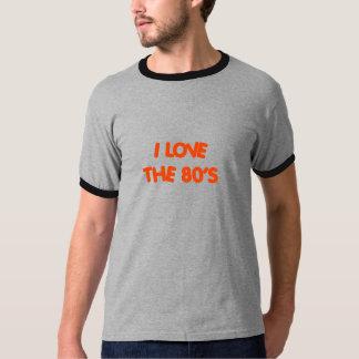 """"""" I Love the 80's"""" Men's Ringer Tshirt"""