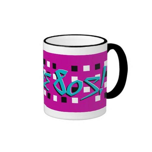 I Love The 80s! Ringer Mug