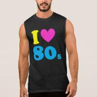 I Love The 80s Sleeveless Shirt
