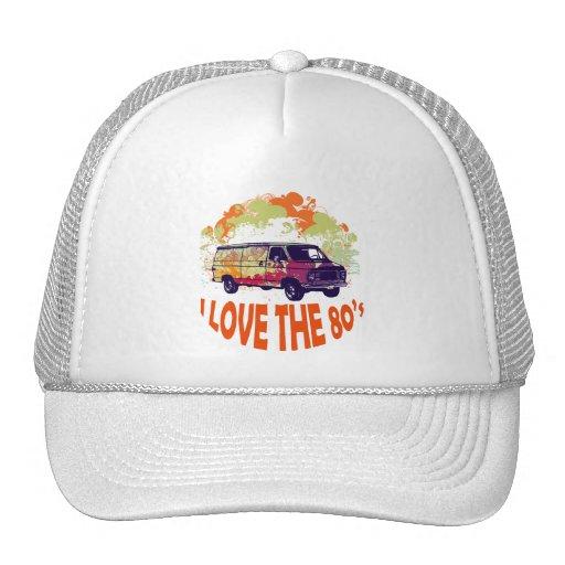 I LOVE THE 80's Trucker Hat