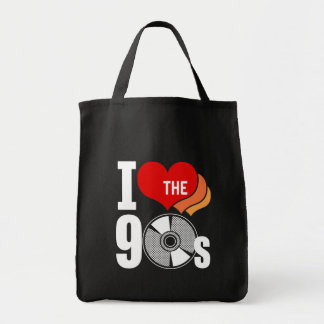 I Love The 90s Canvas Bags