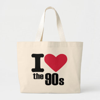 I love the 90's tote bags