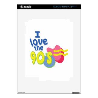 I Love the 90s iPad 3 Decal