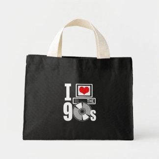 I Love The 90s Mini Tote Bag