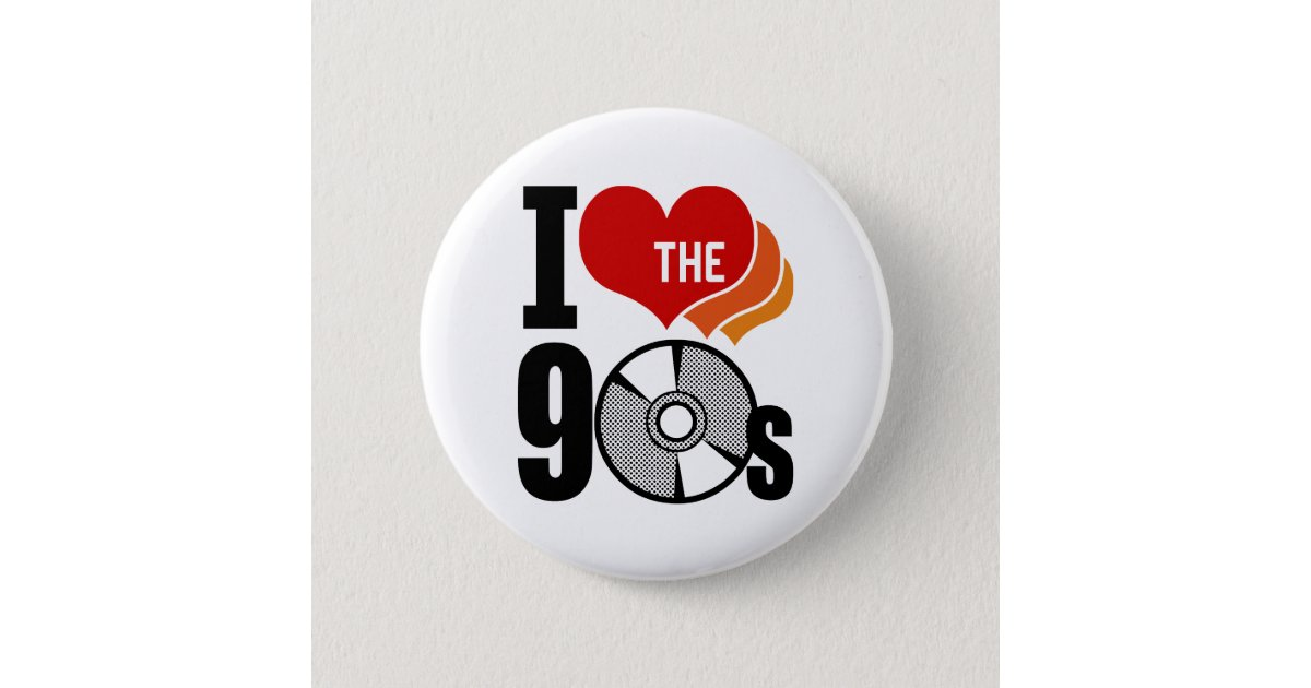 90s Party Buttons