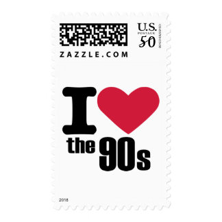 I love the 90's postage