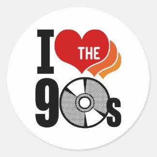 I Love The 90s Sticker