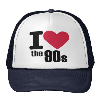 I love the 90s trucker hat
