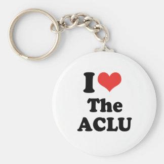 I LOVE THE ACLU - .png Key Chain