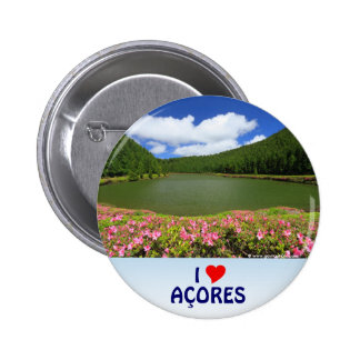 I Love the Açores 2 Inch Round Button