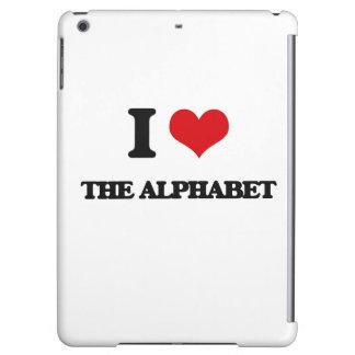 I Love The Alphabet iPad Air Cover