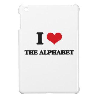 I Love The Alphabet iPad Mini Case