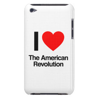 i love the american revolution barely there iPod case